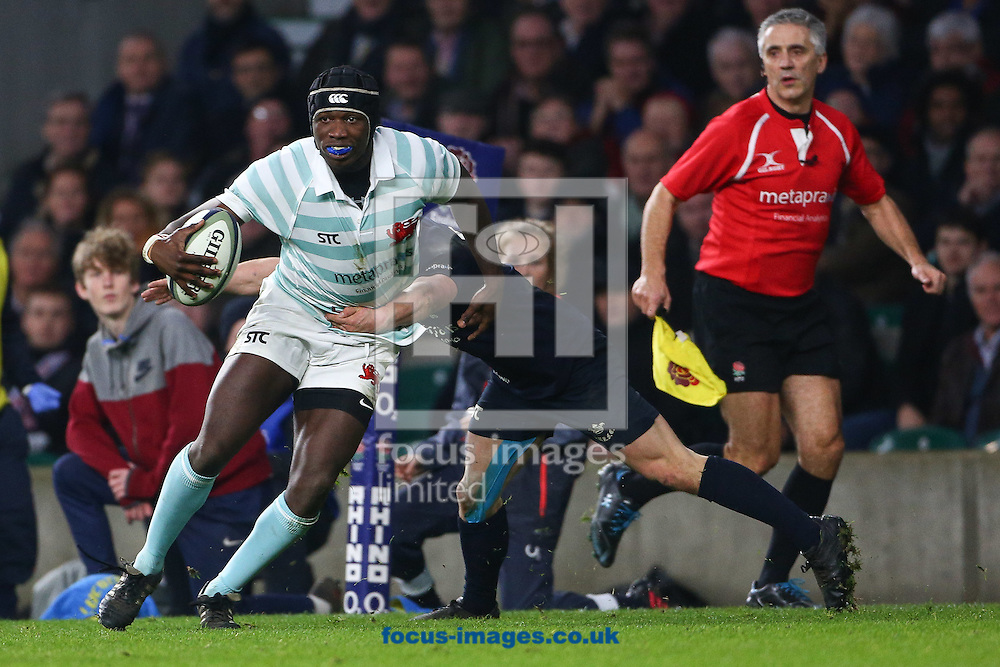 Lare Erogbogbo of Cambridge University during The Varsity Match at Twickenham Stadium, Twickenham<br /> Picture by Mark Chappell/Focus Images Ltd +44 77927 63340<br /> 08/12/2016