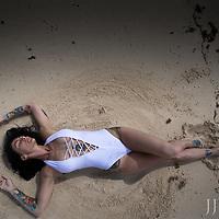 Beach Shoot in Cozumel