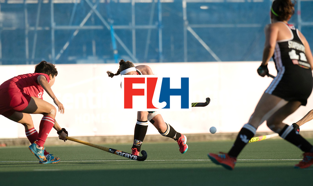 AUCKLAND - Sentinel Hockey World League final women<br /> Match id: 10303<br /> 13 GER v KOR (QF) 3-3<br /> Korea in to semi after shoot out.<br /> Foto:  Pelegrina Teresa Martin.<br /> WORLDSPORTPICS COPYRIGHT FRANK UIJLENBROEK