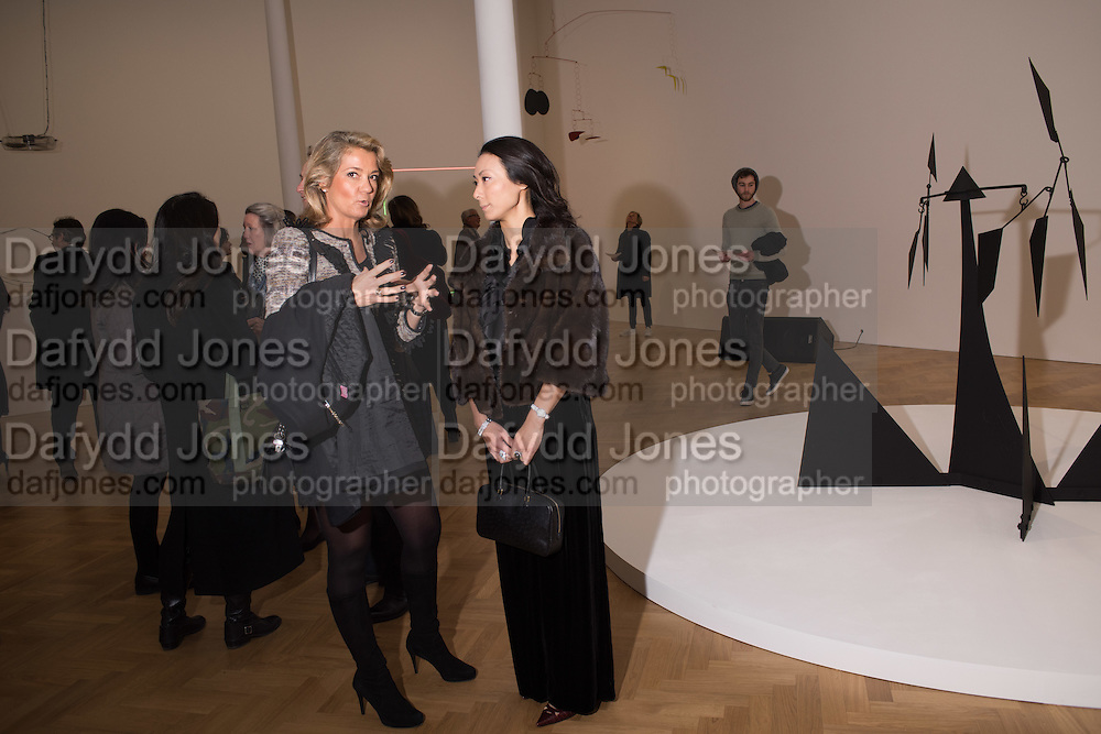 JULIA CAMPBELL-CARTER; ANNABEL WILSON;, Pace London presents The Calder Prize 2005-2015, Burlington Gardens, London.  Thursday 11 February 2016,