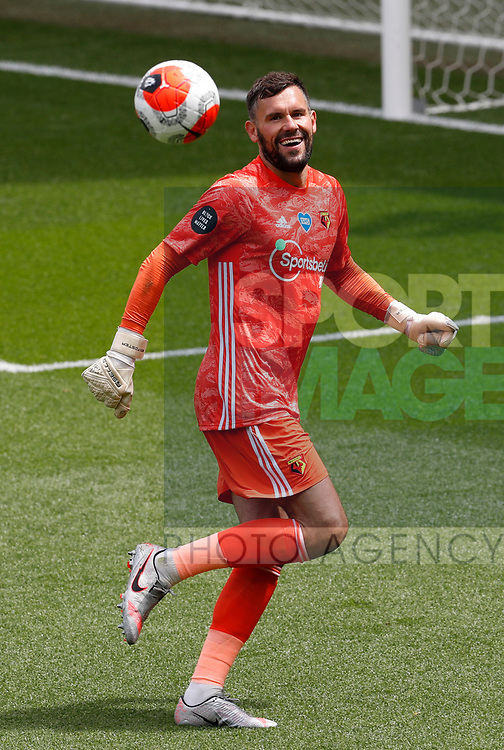 Ben Foster of Watford during the Premier League match at Vicarage Road, Watford. Picture date: 20th June 2020. Picture credit should read: Darren Staples/Sportimage