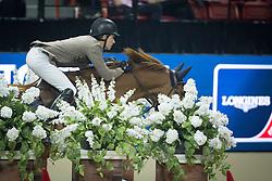 Lindelow Douglas, (SWE), Casello<br /> Longines FEI World Cup™ Jumping Final I<br /> Las Vegas 2015<br />  © Hippo Foto - Dirk Caremans<br /> 17/04/15