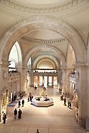 New York Metropolitan museum  of art  , The MET,  main hall