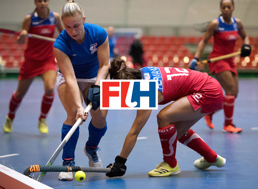 BERLIN - Indoor Hockey World Cup<br /> Czech Republic - Namibia<br /> foto: KYNDLOVA Klara <br /> WORLDSPORTPICS COPYRIGHT FRANK UIJLENBROEK