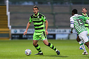 Forest Green Rovers Farrend Rawson(20) on the ball during the EFL Sky Bet League 2 match between Yeovil Town and Forest Green Rovers at Huish Park, Yeovil, England on 24 April 2018. Picture by Shane Healey.