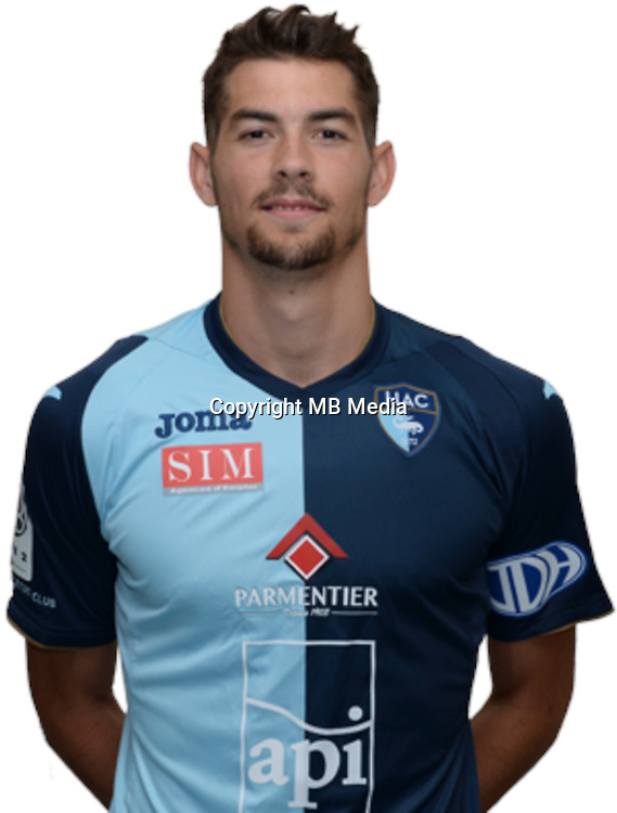 Barnabas BESE during photocall of Le Havre AC for new season of Ligue 2 on September 29th 2016<br /> Photo : Lelaidier / Hac / Icon Sport