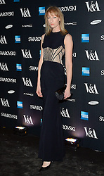 Jade Parfitt attends Alexander McQueen: Savage Beauty VIP private view at The Victoria and Albert Museum, Cromwell Road, London on Saturday 14 March 2015
