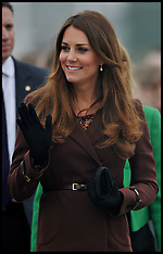 MAR 05 2013 Duchess of Cambridge in Grimsby