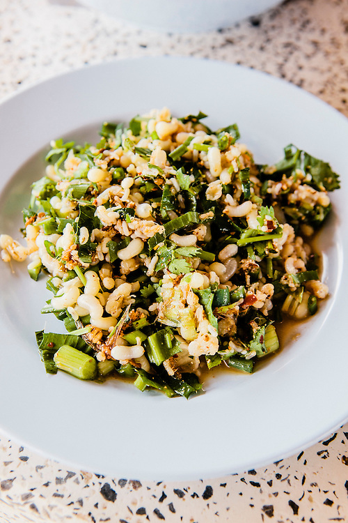 Larb khai mod daeng (larb made with red ant eggs rather than more common pork), Udon Thani