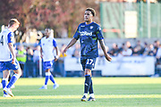 Leeds United midfielder Helder Costa (17) during the Pre-Season Friendly match between Guiseley  and Leeds United at Nethermoor Park, Guiseley, United Kingdom on 11 July 2019.
