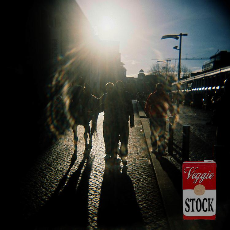 Horse sellers at Smithfield Horse Market, Dublin, Ireland, November 2008.