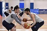 DESCRIZIONE : Roma allenamento nazionale maschile sperimentale<br /> GIOCATORE : Aristide Landi Amedeo Tessitori<br /> CATEGORIA : nazionale maschile sperimentale<br /> GARA : Roma allenamento nazionale maschile sperimentale<br /> DATA : 14/04/2015<br /> AUTORE : Agenzia Ciamillo-Castoria