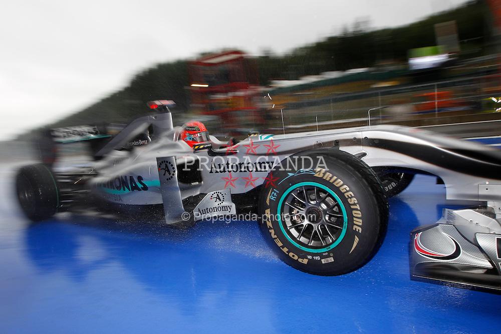 Motorsports / Formula 1: World Championship 2010, GP of Belgium, 03 Michael Schumacher (GER, Mercedes GP Petronas),