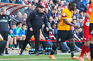Russell Slade , Manager of Leyton Orient during the Sky Bet League 1 match at the Matchroom Stadium, London<br /> Picture by David Horn/Focus Images Ltd +44 7545 970036<br /> 29/03/2014