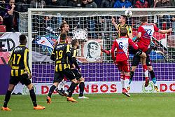 11-03-2018 NED: FC Utrecht - Vitesse, Utrecht<br /> Utrecht verslaat met 5-1 Vitesse / Chaos voor het Utrecht goal