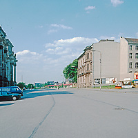 Imagery of Berlin in 1993, four years after the wall came down. Much construction , many improvements, but still many reminders of when the wall was still there.