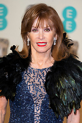 © Licensed to London News Pictures. 14/02/2016. London, UK. STEPHANIE POWERS arrives carpet for the EE British Academy Film Awards 2016 after party held at Grosvenor House . London, UK. Photo credit: Ray Tang/LNPPhoto credit: Ray Tang/LNP