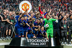 24-05-2017 SWE: Final Europa League AFC Ajax - Manchester United, Stockholm<br /> Finale Europa League tussen Ajax en Manchester United in het Friends Arena te Stockholm / Team Manchester United