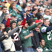 New York Jets fans during the New York Jets Vs Miami Dolphins  NFL American Football game at MetLife Stadium, East Rutherford, NJ, USA. 1st December 2013. Photo Tim Clayton