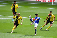 Football - 2019 / 2020 Premier League - Watford vs. Leicester City<br /> <br /> Leicester City's James Justin in action during this afternoon's game, at Vicarage Road.<br /> <br /> COLORSPORT/ASHLEY WESTERN