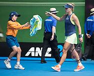 ANGELIQUE KERBER (GER)<br /> <br /> Tennis - Australian Open 2018 - Grand Slam / ATP / WTA -  Melbourne  Park - Melbourne - Victoria - Australia  - 24 January 2018.