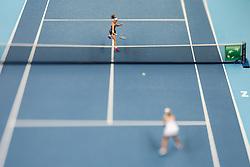 February 7, 2019 - Zielona Gora, Poland - Rebecca Peterson (SWE) during Tennis 2019 Fed Cup by Paribas Europe/Africa Zone Group 1  match between Sweden and Estonia in Zielona Gora, Poland, on February 7, 2019. (Credit Image: © Foto Olimpik/NurPhoto via ZUMA Press)
