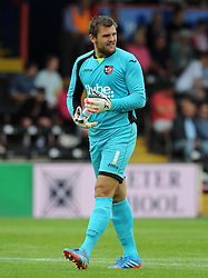 Exeter City's Bobby Olejnik. - Photo mandatory by-line: Harry Trump/JMP - Mobile: 07966 386802 - 18/07/15 - SPORT - FOOTBALL - Pre Season Fixture - Exeter City v Bournemouth - St James Park, Exeter, England.