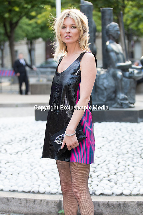 KATE MOSS - ARRIVALS IN THE EVENING ' MIU MIU CLUB ' - PERFUME LAUNCH OF 1 MIU MIU AND CRUISE COLLECTION 2016 FASHION SHOW AT THE PALACE OF IENA<br /> &copy;Exclusivepix Media