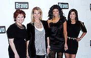 Carolina Manzon, Dina Manzo, Teresa Guidice and Jacqueline Laurita attend the 2010 Bravo Media Upfront Party at Skylight Studios in New York City on March 10, 2010.