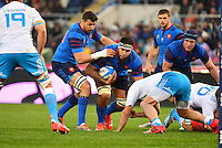 Romain TAOFIFENUA - 15.03.2015 - Rugby - Italie / France - Tournoi des VI Nations -Rome<br /> Photo : David Winter / Icon Sport