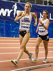 The 108th Millrose Games Track & Field: Women's USATF Championship Mile Walk, Michta-Coffey