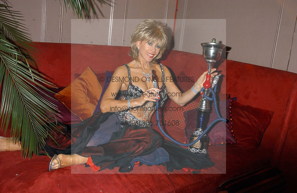 SALLY FARMILOE at a party to celebrate the recent merger of Chelsea Mortgage Management with Cobalt Capital - A Night in Marrakesh held at Raffles, nightclub, Kings Road, London on 1st December 2005.<br /><br />NON EXCLUSIVE - WORLD RIGHTS