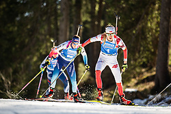 Monika Hojnisz-Starega (POL) during the Women 15 km Individual Competition at day 2 of IBU Biathlon World Cup 2019/20 Pokljuka, on January 23, 2020 in Rudno polje, Pokljuka, Pokljuka, Slovenia. Photo by Peter Podobnik / Sportida