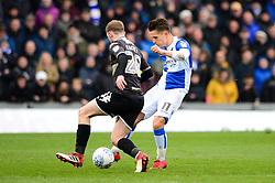 Tom Nichols of Bristol Rovers takes a shot at goal - Mandatory by-line: Dougie Allward/JMP - 30/03/2018 - FOOTBALL - Memorial Stadium - Bristol, England - Bristol Rovers v Bury - Sky Bet League One