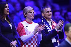 November 23, 2018 - Villeneuve D Ascq, France, France - Kolinda Grabar Kitarovic - presidente de la Croatie (Credit Image: © Panoramic via ZUMA Press)