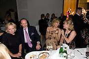 ELIETTE VON KARAJAN; PRINCE PIERRE D'ARENBERG; BEGUM AGA KHAN; MRS. YVONNE WINKLER, Dinner at the Museum der Moderne. Salzburg.  Amadeus Weekend. Salzburg. 23 August 2008.  *** Local Caption *** -DO NOT ARCHIVE-© Copyright Photograph by Dafydd Jones. 248 Clapham Rd. London SW9 0PZ. Tel 0207 820 0771. www.dafjones.com.