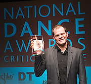 The Critics' Circle National Dance Awards 2011 <br /> at The Place, London, Great Britain <br /> 23rd January 2012 <br /> <br /> <br /> Photograph by Elliott Franks