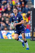 Adam Hastings (#22) of Scotland during the Guinness Six Nations match between Scotland and Wales at BT Murrayfield Stadium, Edinburgh, Scotland on 9 March 2019.