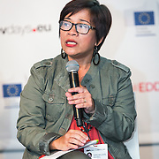 20160616 - Brussels , Belgium - 2016 June 16th -European Development Days - Universalising effective development cooperation - Maria Teresa Lauron , Co-Chair , CSO Partnership for Development Effectiveness © European Union