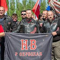 2016/05/09 Berlin | Politik | Russische Nachtwölfe feiern Tag des Sieges