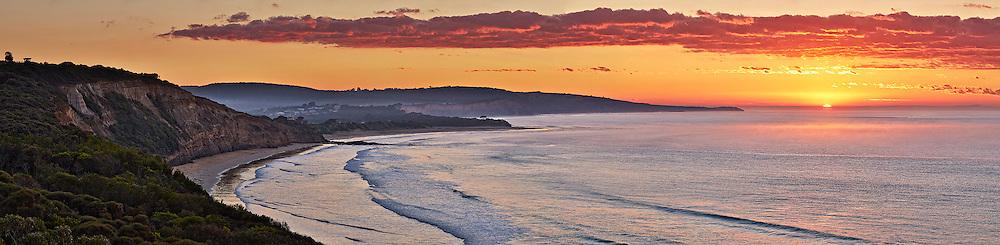 autumn sunrise at Anglesea
