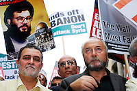 "LONDON 22 July 2006. Stop the Onslaught on Lebanon. Over 7,000  people joined a street protest against Israel's attacks on Lebanon... ""The Israeli assault is now spreading to all regions including the mountains and the north. The damage is enormous and the death toll is rising. This only indicates the scale of the attacks and the advanced weaponry the Israelis are using. Only looking at the infrastructure ruins you can see how powerful they are. We are under siege from all directions - air, sea and land."" ..Eyewitness account from a socialist in Lebanon"
