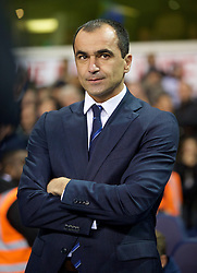 LONDON, ENGLAND - Sunday, November 30, 2014: Everton's manager Roberto Martinez before the Premier League match against Tottenham Hotspur at White Hart Lane. (Pic by David Rawcliffe/Propaganda)