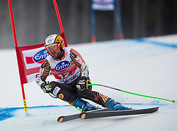 20.12.2013, Saslong, Groeden, ITA, FIS Ski Weltcup, Groeden, Abfahrt, Herren, SuperG, im Bild Jan Hudec (CAN) // Jan Hudec of Canada in action during mens Super-G of the Groeden FIS Ski Alpine World Cup at the Saslong Course in Gardena, Italy on 2012/12/20. EXPA Pictures © 2013, PhotoCredit: EXPA/ Johann Groder