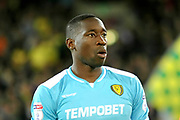 Burton Albion's Lucas Akins during the EFL Sky Bet Championship match between Norwich City and Burton Albion at Carrow Road, Norwich, England on 12 September 2017. Photo by John Potts.