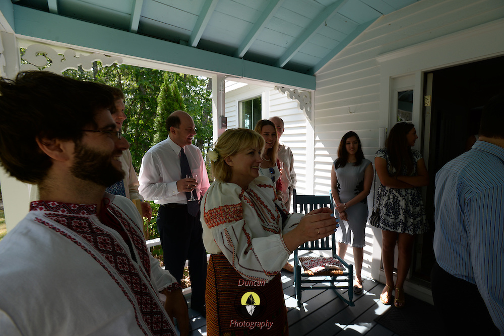 WEST BATH AND TOPSHAM, Maine,  -- 8/29/15 -- Wedding celebration of Jason Spiro and Nataly Polykova. <br /> &copy; Roger Duncan Photography 2015 207-443-9665<br /> Images released for all personal uses to Nataly Polykova and Jason Spiro.