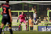 Lewis Thomas of Forest Green Rovers stands ready in goal during the EFL Sky Bet League 2 match between Forest Green Rovers and Stevenage at the New Lawn, Forest Green, United Kingdom on 21 September 2019.