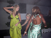 **EXCLUSIVE**.Petra Nemcova, Actress Hofit Golan & Star Jones dancing.Prince Albert Charity Event.Greenhouse.Cannes, France.Thrusday, May 15, 2008.Photo By Celebrityvibe.com.To license this image please call (212) 410 5354; or Email: celebrityvibe@gmail.com ;.website: www.celebrityvibe.com