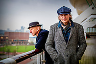ROTTERDAM - matthijs van nieuwkerk en Wilfied de jong een Murakami weekend op de SS Rotterdam. copyright robin utrecht