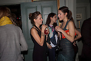 ANNIE AHONEN; NATALIE WRIGHT- MARK FAST party, PARADISE, KENSAL GREEN. London. 28 July 2011. <br /> <br />  , -DO NOT ARCHIVE-© Copyright Photograph by Dafydd Jones. 248 Clapham Rd. London SW9 0PZ. Tel 0207 820 0771. www.dafjones.com.